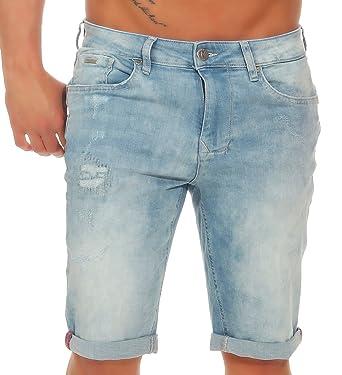 M.O.D Herren denim jogg Jeans Shorts MOD Cornell bermuda kurze Hose Vintage  Look dehnbar stretch Sweat 2321d15137