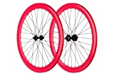 Pure Fix 700C 40mm Wheelset, Pink