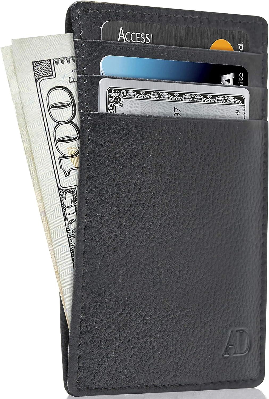 2018 Slim Wallet for Men Women Slimline Wallets Ultra Thin Mini Small Male