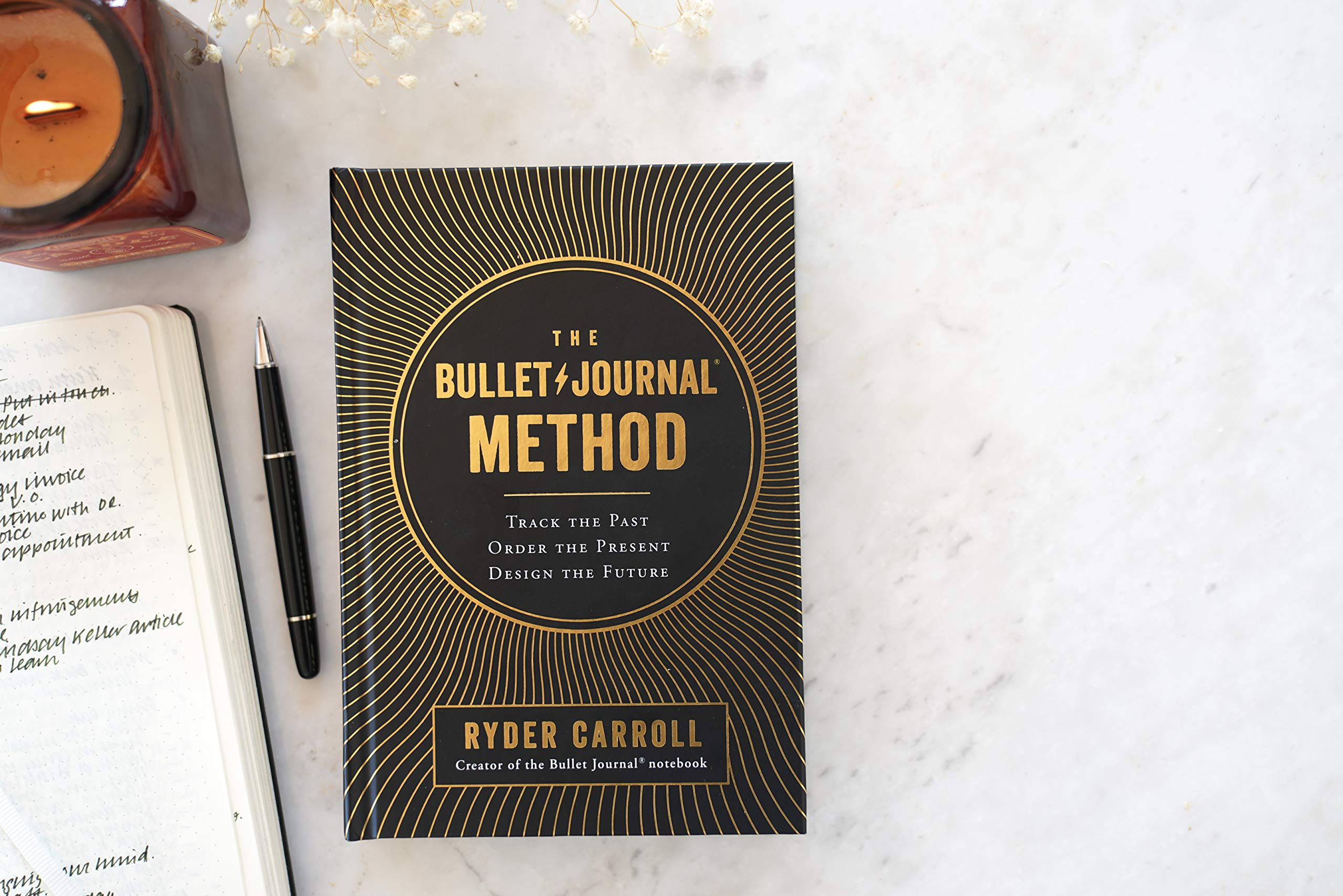 The Bullet Journal Method: Track the Past, Order the Present, Design the  Future: Amazon.es: Ryder Carroll: Libros en idiomas extranjeros
