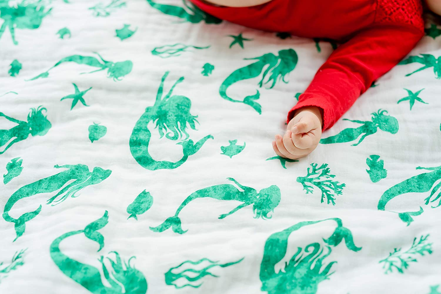 Cactus Print Best Baby//Toddler Gift ADDISON BELLE 100/% Organic Muslin Everything Blanket Oversized 47 inches x 47 inches Premium 4 Layer Muslin Blanket//Dream Blanket