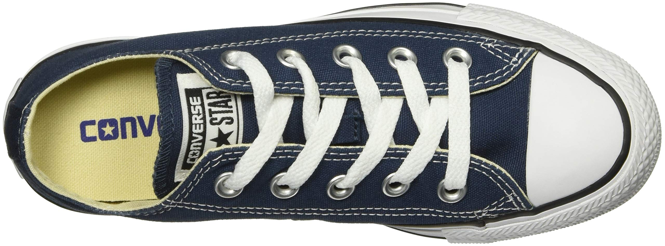 Converse Unisex Chuck Taylor All Star Low Top Navy Sneakers - 12MN-14WO B(M) US by Converse (Image #8)