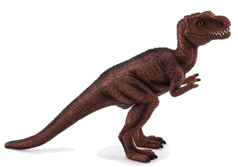 A MOJO Fun 387192 Juvenile Tyrannosaurus rex - Prehistoric Dinosaur Toy Replica