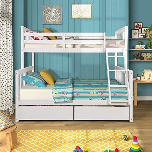 Knocbel Bunk Beds Twin Over Full