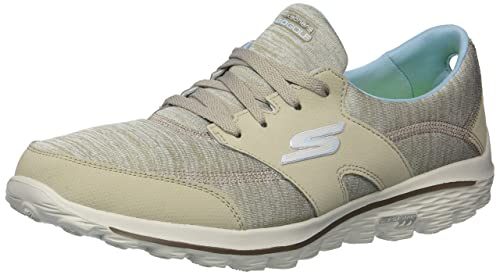 11a1c10baf437 Image Unavailable. Image not available for. Colour: Skechers Women's Go  Walk 2 Backswing Golf Shoe,