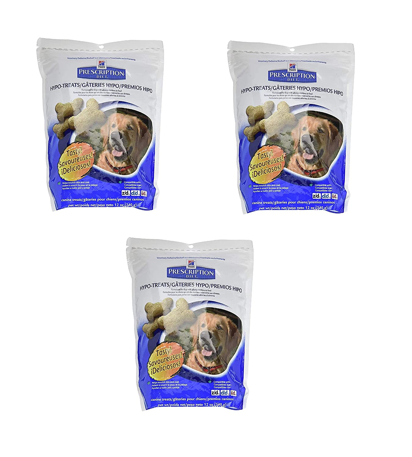 Hills Prescription Diet Hypoallergenic Canine Treats - 12oz (2 Pack): Pet Supplies: Amazon.com