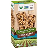 Cascadian Farm Organic Granola Bars, Chocolate Chip Chewy Granola Bars,Family Size 2 Pack ( 60 Bars, 1.2 oz Each Bars)