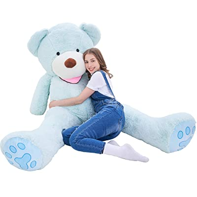 IKASA Giant Teddy Bear Plush Toy Stuffed Animals 6.5 Foot (Green, 78 inches): Toys & Games