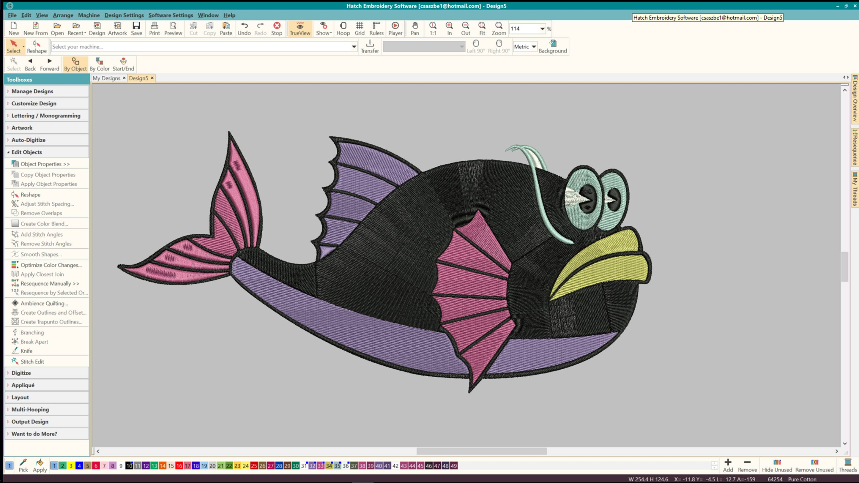 Hatch Embroidery Basics [Download] - Import It All