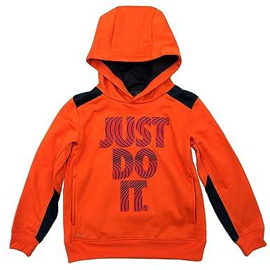efd841e0d NIKE Little Boys' Dri-Fit Therma Fleece Hoodie Pullover Sweatshirt, (Just Do