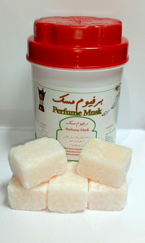Musk almizcle lata de 250 grs en pastillas - perfume sin alcohol Musk perfume