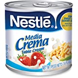 Media Crema Table Cream Cans – Add Rich, Creamy Texture to Sweet and Savory Dishes