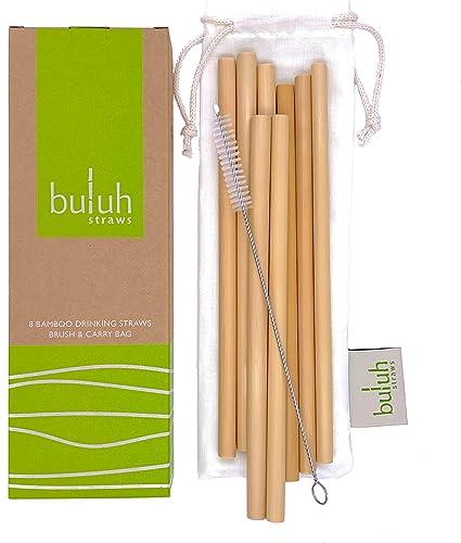 Buluh Straws Natural Organic Bamboo