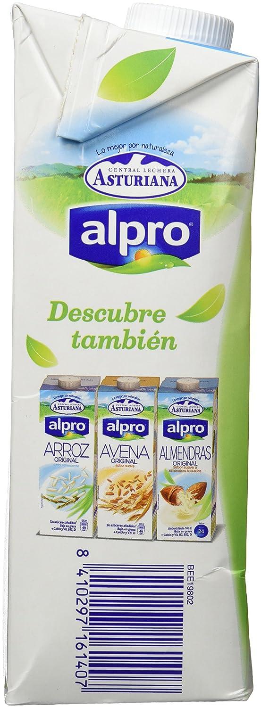 Alpro Central Lechera Asturiana Bebida de Soja Ligera Calcio - 1 l: Amazon.es: Amazon Pantry