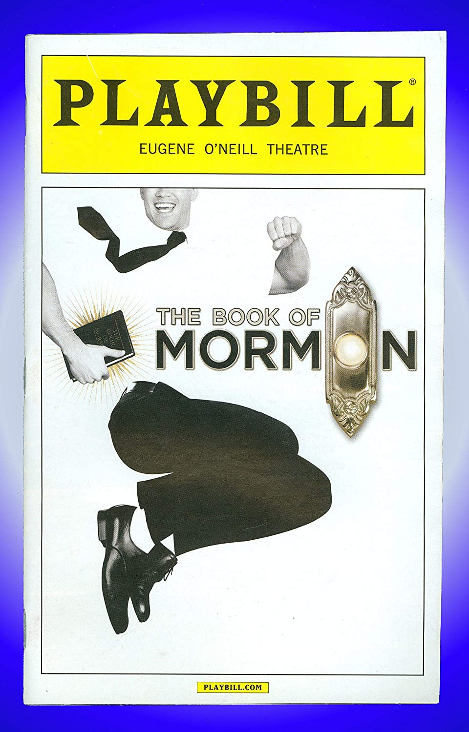 The Book of Mormon, Broadway playbill + Nic Rouleau, Brian Sears, Kim Exum, Stephen Ashfield Billy Eugene Jones Lewis Cleale Stephen Christopher Anthony Nic Rouleau