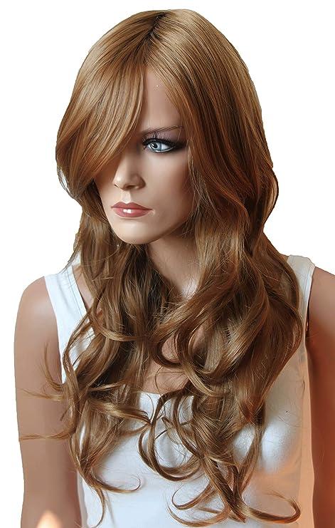 PRETTYSHOP Parrucca da donna Fashion Capelli Lunghi ondulato 80cm  resistente al calore vari colori 9fb410a20c0f