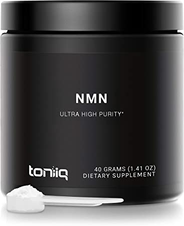 Ultra High Purity NMN Powder - 40 Grams - 99.7% Pharmaceutical Grade for Enhanced Absorption - Fully Stabilized Formula - Naturally Boost NAD+ Levels - Nicotinamide Mononucleotide Powder Supplement