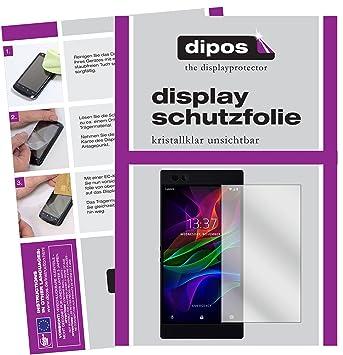 dipos I 2X Protector de Pantalla Compatible con Razer Phone ...