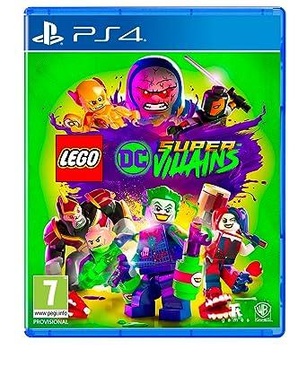 Lego Dc Super Villains Ps4 Amazon Co Uk Pc Video Games