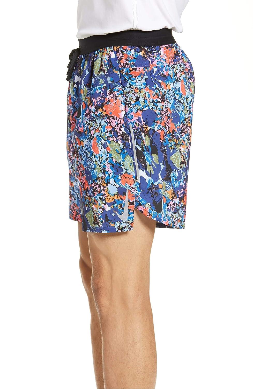 Nike Authentic Men/'s 5 Inch Dri-Fit Running Shorts Blue Reflector L XL 2XL