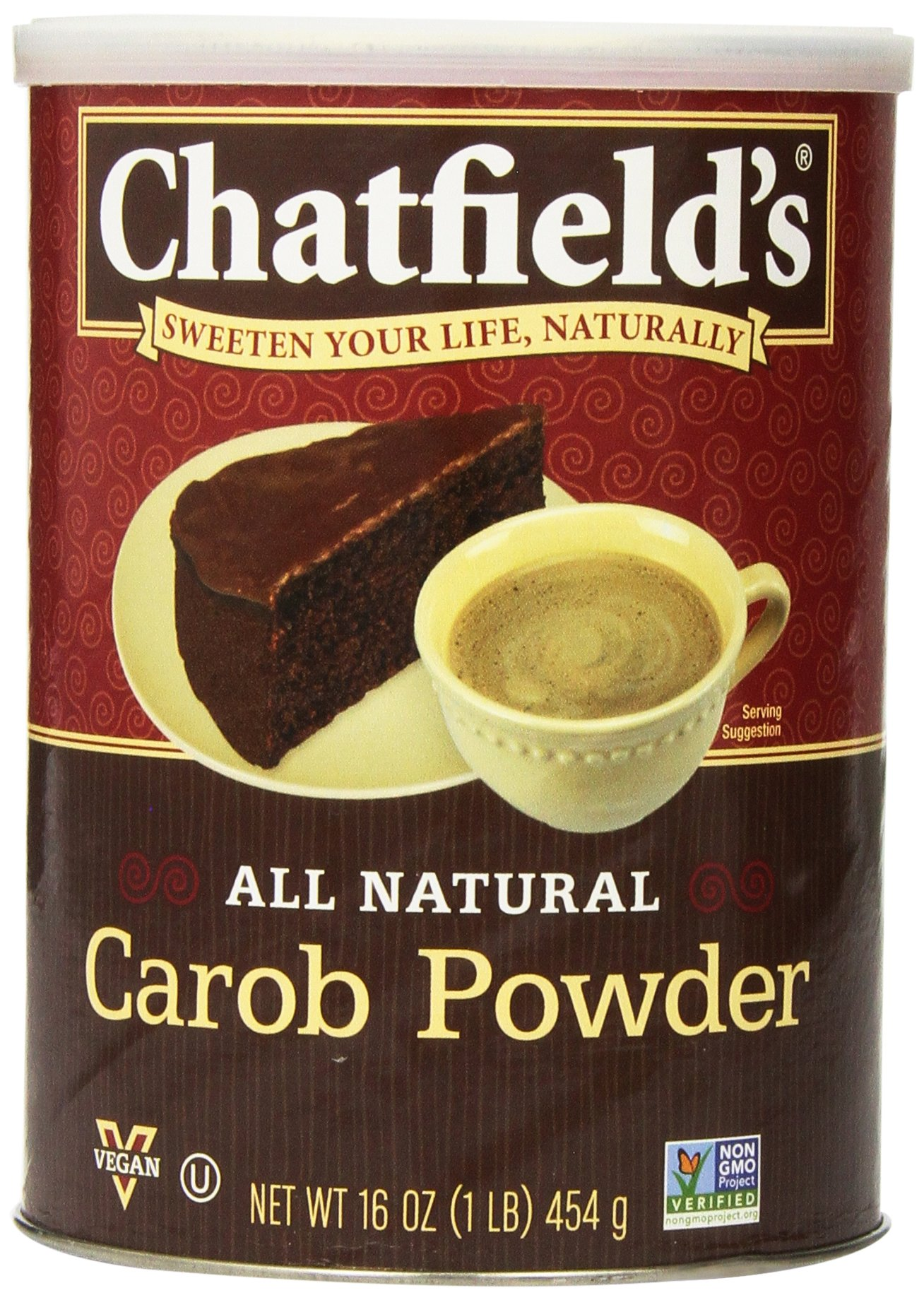 Chatfields All Natural Premium Carob Powder, 16 Ounce