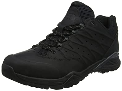 7e9e8a9062 The North Face Hedgehog Hike II GTX, Chaussures de Randonnée Basses Homme,  Noir (