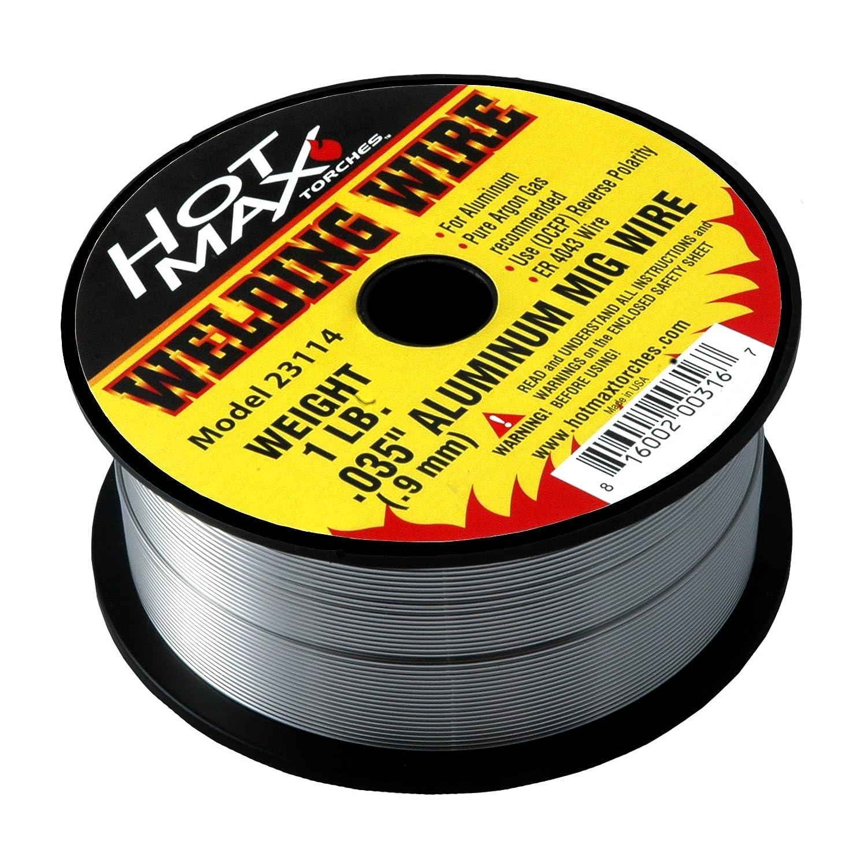 1# Hot Max 23113 .030-Inch Aluminum MIG Wire