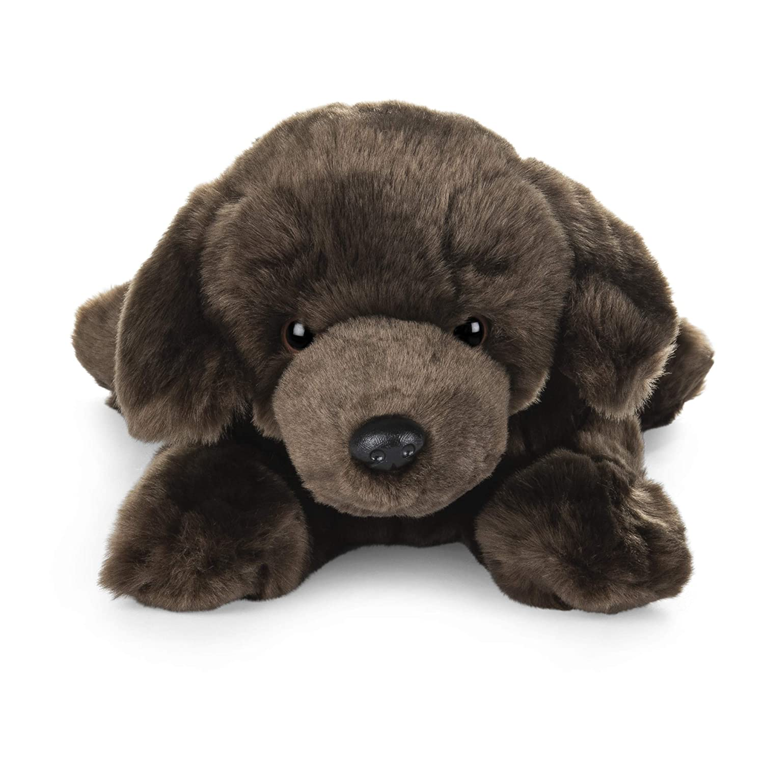 GUND Chocolate Labrador Dog Stuffed Animal Medium 14 inch Plush Toy