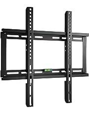 """Paladinz PLDTVM002U Supporto da Parete Fisso Ultra Sottile per 23"""" - 55"""" (58 - 139 cm) Smart TV, max VESA 400 x 400, Capacità 95 kg, Livella inclusa, Nero"""