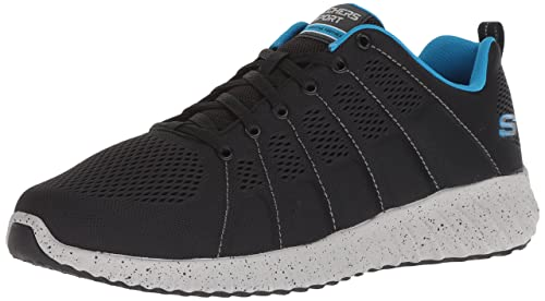 Skechers Skech-Ascent-Sherrod, Sneaker Uomo, Nero (Black/Blue), 46 EU