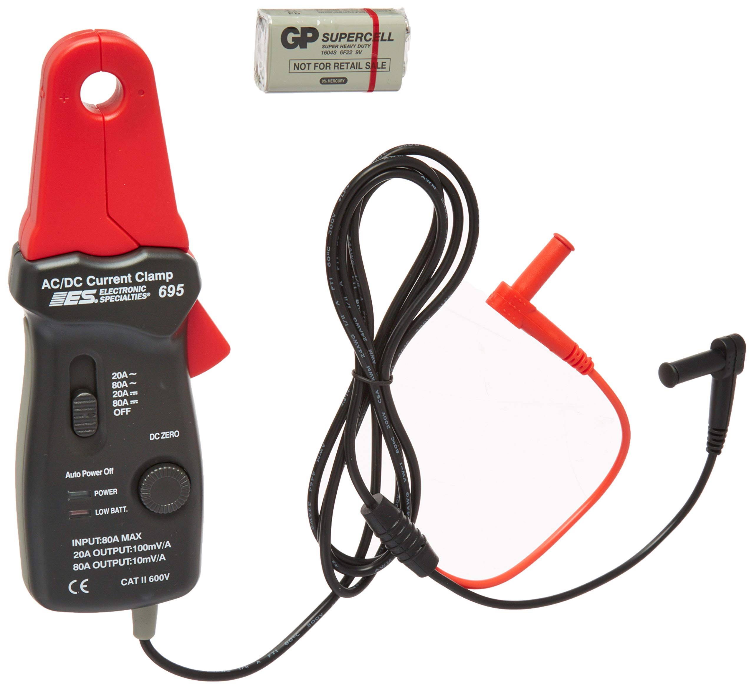 ESI 695 80 Amps DC/AC Low Current Probe by Electronic Specialties (Image #2)
