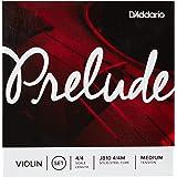 Encordoamento Para Violino Tensão Média D'Addario Bowed Prelude J810 4/4M