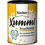 100g Kaugummi Frucht Xucker Xummi Xylit Xylitol für Diabetiker geeignet vegan