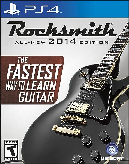 Amazon.com: Rocksmith 2014 Edition - PlayStation 4: UbiSoft: Video Games