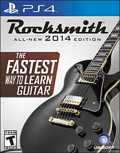Ubisoft Rocksmith 2014, PS4 - Juego (PS4, PlayStation 4, Música, T