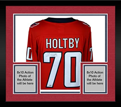 Image Unavailable. Image not available for. Color  Framed Braden Holtby  Washington Capitals Autographed Red Fanatics Breakaway ... 5d687a6e2