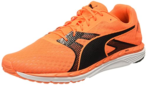 519ff883ea7 Puma Men s Speed 300 Ignite 2 Shocking Orange- Black Running Shoes - 10 UK