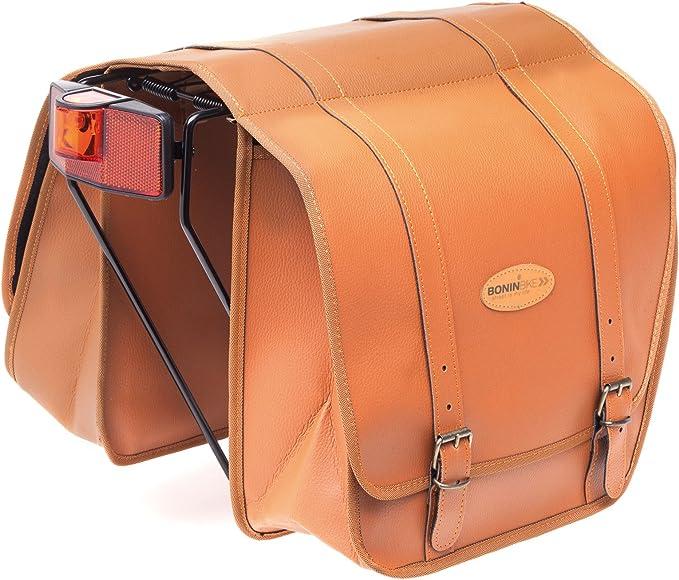 Boninbike Lux Leather Looking Saddle Borse Unisex Adulto