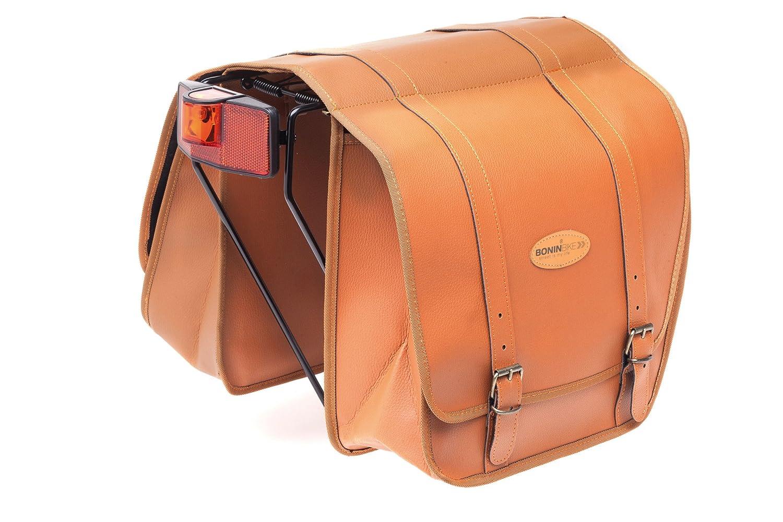 Borse Unisex Adulto Boninbike Lux Leather Looking Saddle