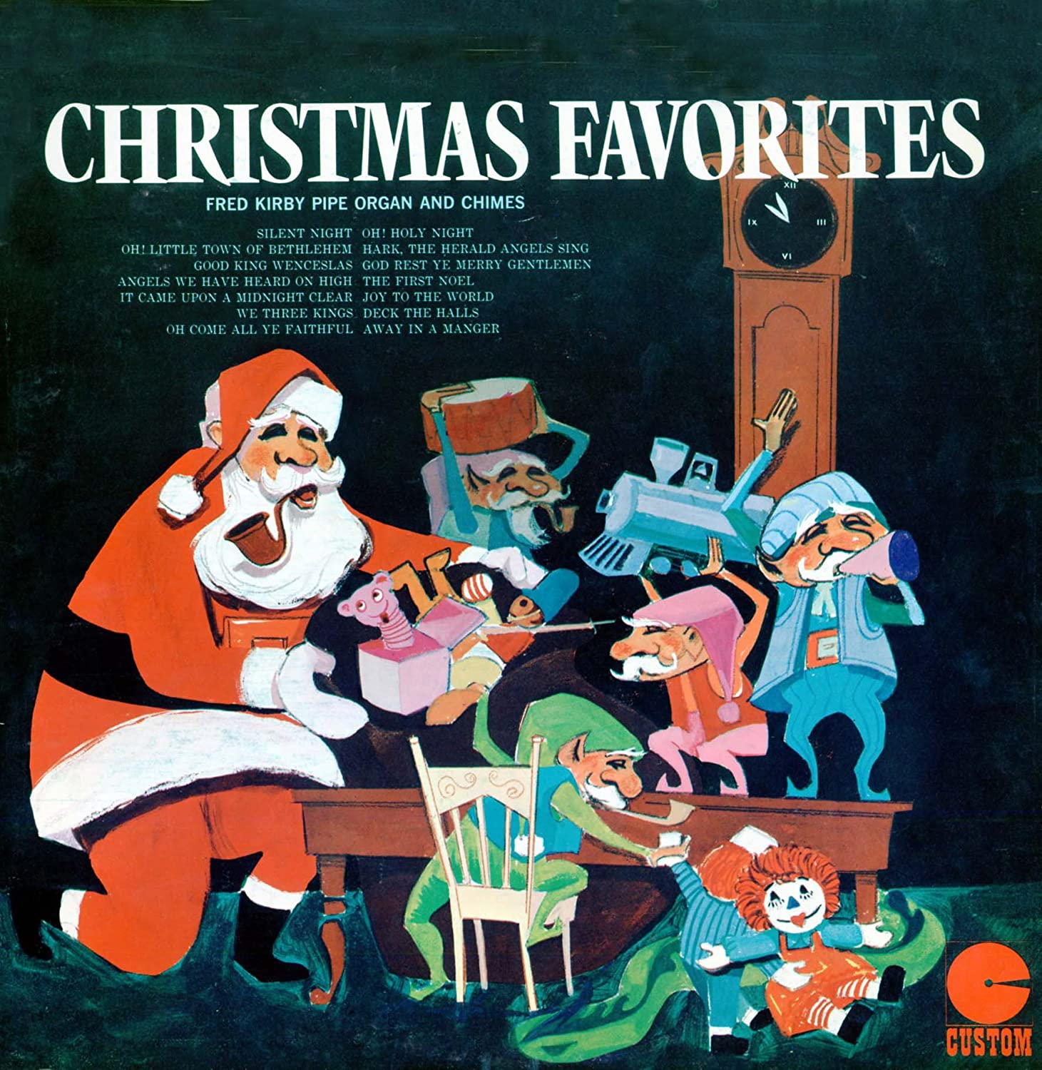 Fred Kirby - Audio CD. Christmas Favorites. Fred Kirby Pipe Organ ...