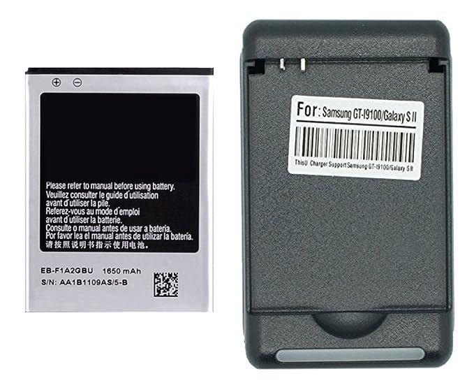 Amazon.com: 1 pc. 1650mAh Bateria de repuesto + Cargador de ...