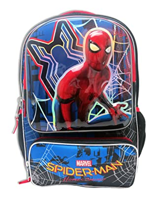 Mochila escolar Marvel Spiderman Homecoming con organizador: Amazon.es: Equipaje