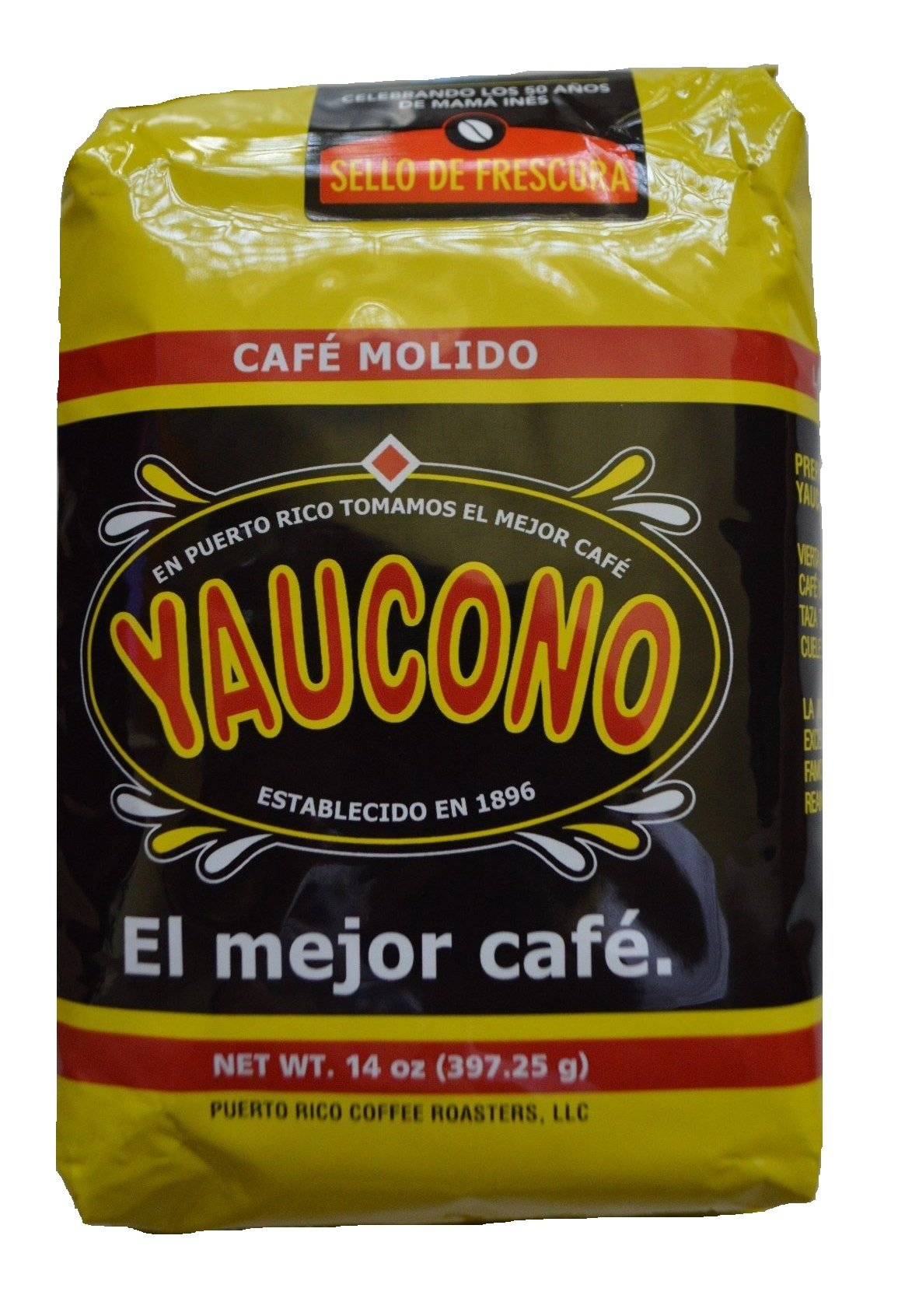 Yaucono Ground Coffee 11.6 Pounds / 13 bags of 14 onz each by Cafe Yaucono (Image #1)