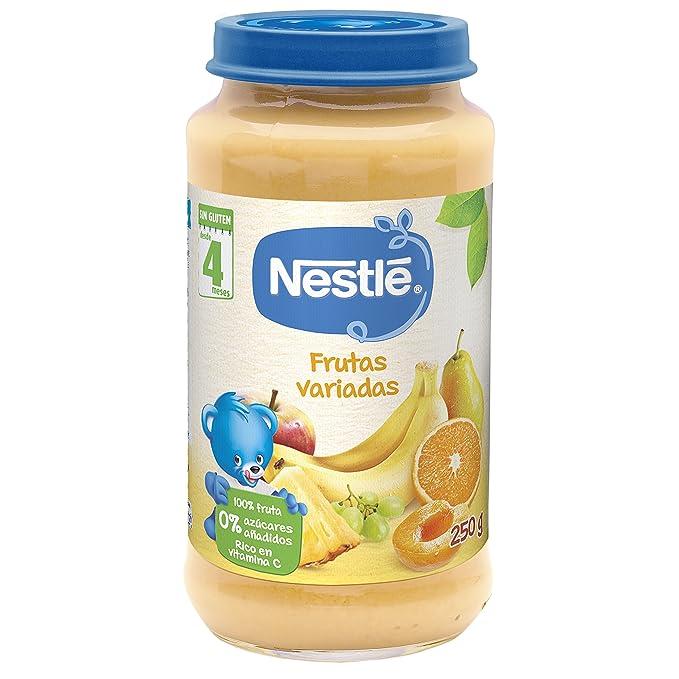 Nestlé Naturnes - Frutas Variadas - A partir de 4 meses - 250 g - ,