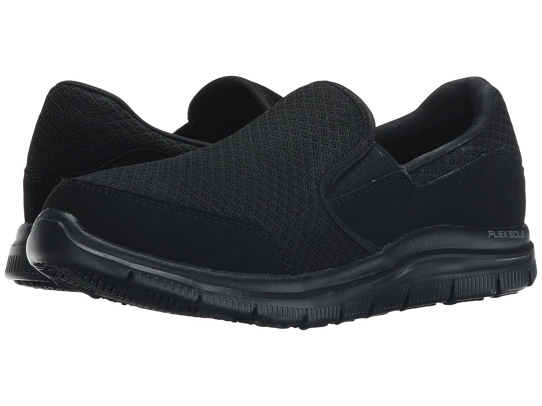 (スケッチャーズ) SKECHERS レディースワークシューズナースシューズ靴 Cozard [並行輸入品] B07FRY8FDL 8 (25cm) B Medium|ブラック ブラック 8 (25cm) B Medium