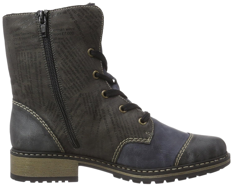 Rieker Z6814 Damen Halbschaft Stiefel: : Schuhe kpchT