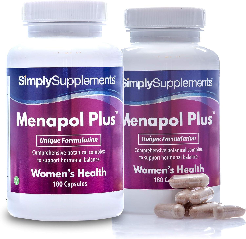 Menapol Plus - Para la menopausia - ¡Bote para 6 meses! - Apto ...