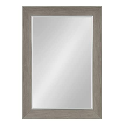 Amazon.com: Kate and Laurel Tahoe Framed Beveled Wall Mirror 30.5 x ...