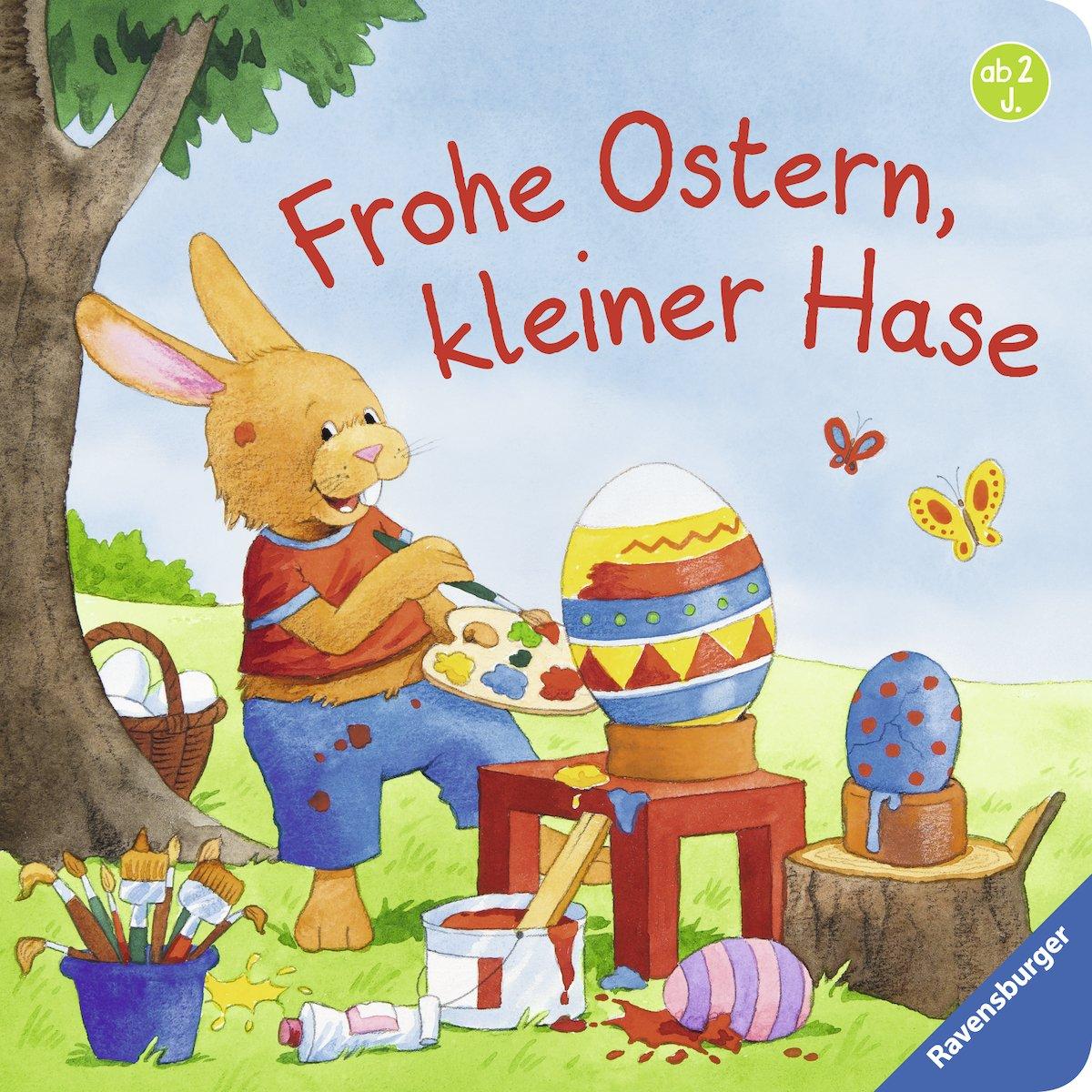 Frohe Ostern, kleiner Hase: Amazon.de: Sandra Grimm, Kerstin M ...