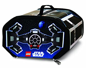 Marvelous Neat Oh! LEGO Star Wars ZipBin TIE Fighter 600 Brick Storage Case